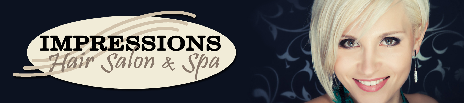 Impressions Hair Salon and Spa. For appointments, call us at 330-345-8824